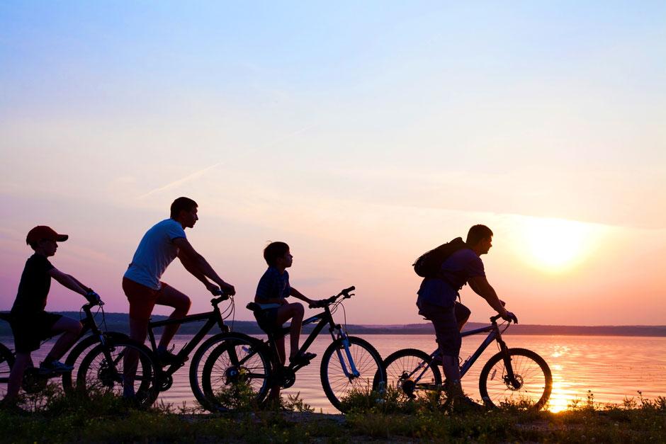 Fahrradverleih an Feriengäste in Büsum